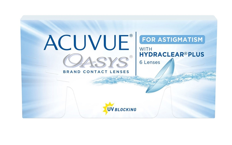 Фото:Acuvue Oasys for Astigmatism 6 шт.<span style='color:#999;'> в Елабуге</span>