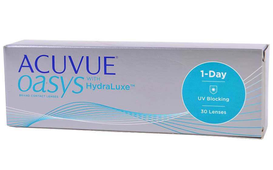Фото:1 Day Acuvue Oasys with HydraLuxe 30 шт.<span style='color:#999;'> в Елабуге</span>