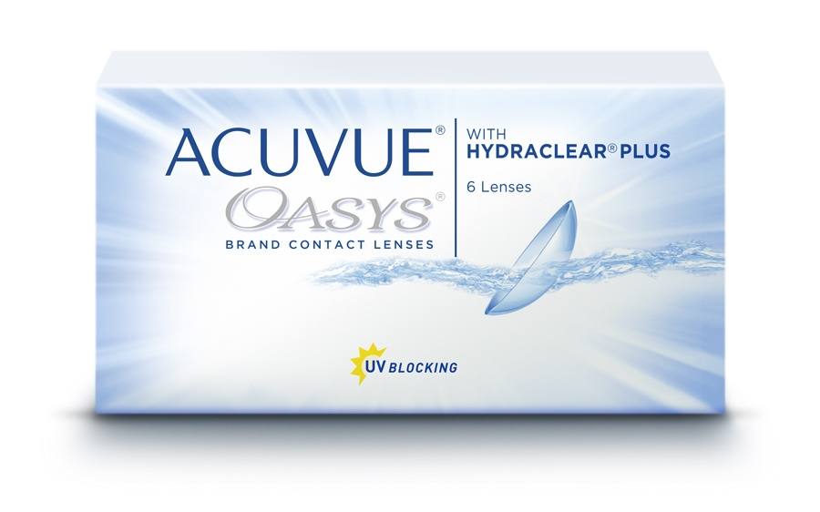 Фото:Acuvue Oasys with hydraclear Plus 6 шт.<span style='color:#999;'> в Елабуге</span>